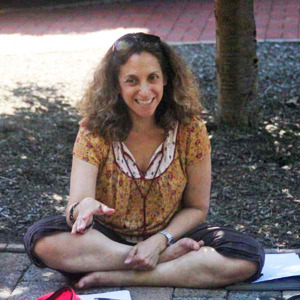 Judith Lindbergh teaching
